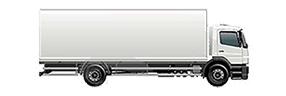 Local moving image of truck